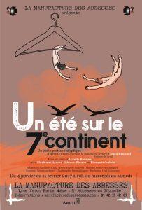Affiche Un été sur le Septième Continent