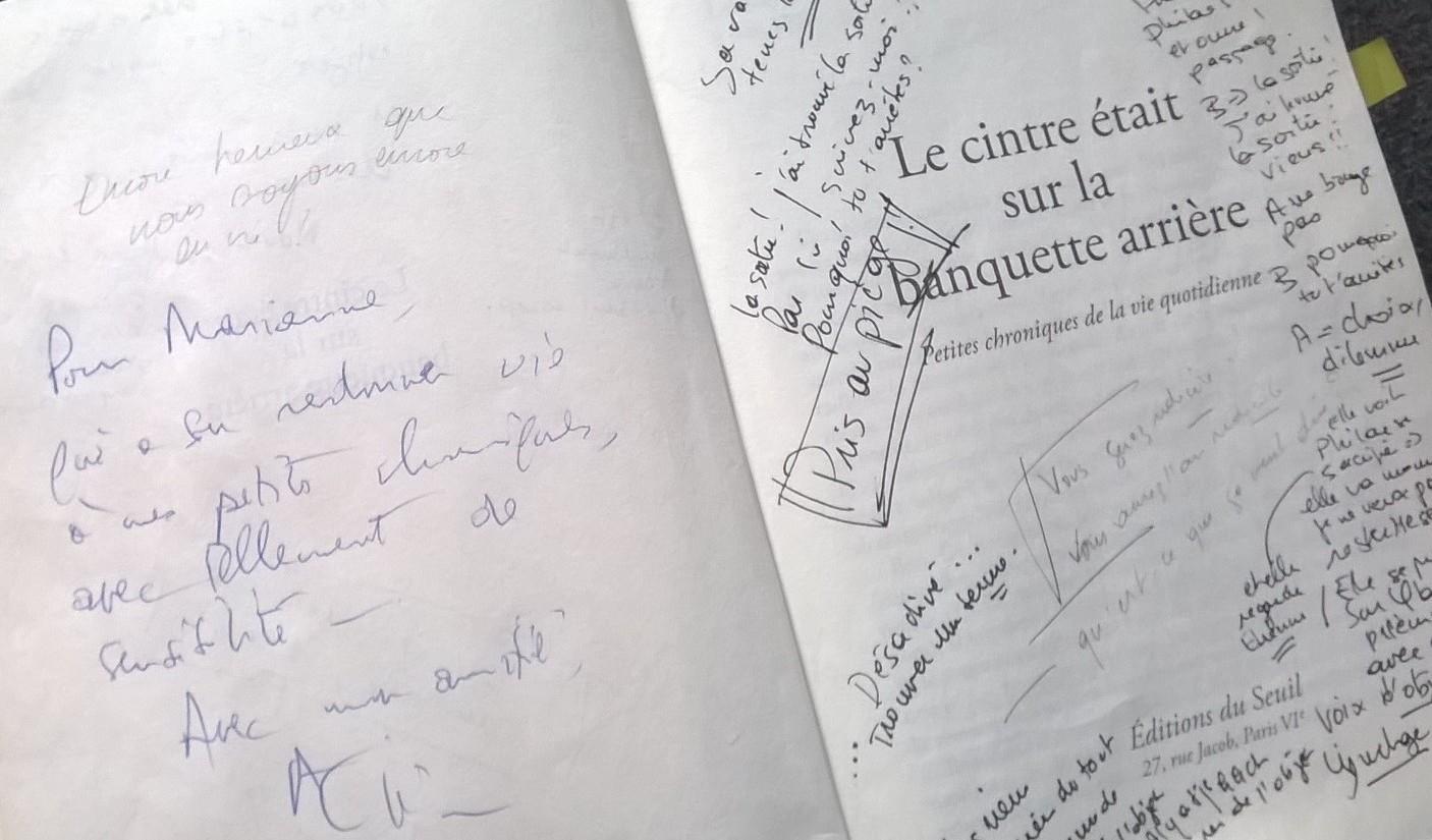 Dédicace d'Alain Rémond